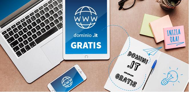 Domini .it gratis!